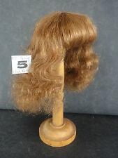 PERRUQUE de POUPEE 100% cheveux T5 (25.5cm) Mi-longue ch-roux -50% SUPER PROMO-