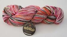 LOT of 5 skeins of NORO NOBORI silk cotton wool chunky knitting yarn color #17