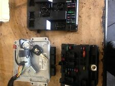 2004 PEUGEOT 307 SW 2.0 HDI ECU LOCK SET KIT 9647472780