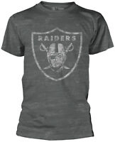 NFL Oakland Raiders BURNOUT T-SHIRT OFFICIAL MERCHANDISE