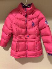US POLO ASSN Girls 5/6 Puffer Coat