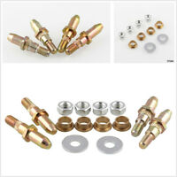 Car SUV Truck Front Door Iron Hinge Pin Bushing Kit Good Electrical Conductivity