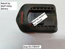 Rebuild / Rebuilt Battery Service For Snap-On CTB4145 14.4 V 3800 mAh NiMh