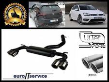 SILENCIEUX POT D'ECHAPPEMENT VW GOLF VII R 2012 2013 2014 2015 TIP 2x90