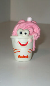 Hardee's Carl's Jr. 1990 Strawberry Shake Water Squirter Fast Food Child Kid Toy