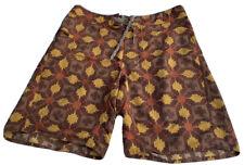 PATAGONIA Boardshorts Swimsuit Mens Size 34 Geometric Aztec Print Shorts Trunks