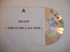 KEANE : THIS IS THE LAST TIME [ french CD SINGLE PROMO PORT GRATUIT ]