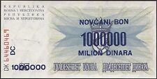 Bosnien und Herzegowina 1.000.000 Dinara 10.11.1993 Pick 35b (1)