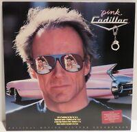 PINK CADILLAC Soundtrack (1-25922). 1989 LP. Hank Williams Jr Randy Travis Dion