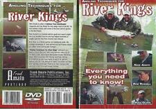 Fishing Angling Techniques for River Kings How to Catch King Salmon Dvd New