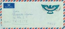 83834 - Sierra Leone - Self-Adhesive stamp  on COVER 1970 - EAGLE birds DIAMONDS