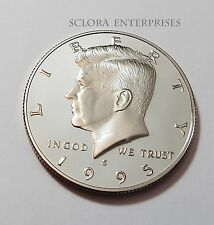 1995 S KENNEDY *PROOF* HALF DOLLAR    **FREE SHIPPING**