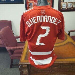 Daniel Hernandez Signed Authentic FC Dallas Jersey