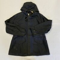 G-Star Clean Hooded Field Jacket Navy Mens Size UK M *REF153