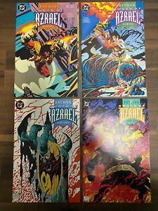 BATMAN, SWORD OF AZRAEL #1-4, (1992) DC comics, High Grade DC Lot Of 4.