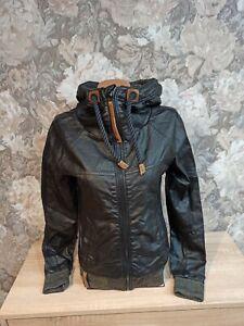 Naketano Women's   jacket black  Color size S excellent