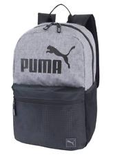"NEW! PUMA 18.5"" BACKPACK - HEATHER GRAY / BLACK"