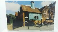 Large Vintage Postcard Cobbolds on the Quay  Vodka Bar Isaac Lord Ipswich