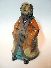 Pepperland Resident Jar -  Handmade And Raku Fired Studio Pottery