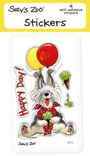 """Suzy's Zoo Stickers 4-pack, """"Happy Day!"""" 10136"""
