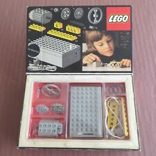 VINTAGE LEGO TECHNIC NO 870 4.5v EXPERT BUILDER POWER PACK MOTOR SET C/W BOX