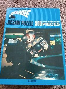Disney's The Black Hole VINCENT 500 pc jigsaw puzzle 1979 Whitman complete