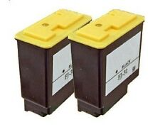 2 x Patronen f. Philips Faxjet 330 335 355 365 375 / PFA-431 BLACK Cartridge