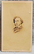 CDV of Union Paymaster, Colonel Pierre Van Alatyne Bowert, N.Y. photographer