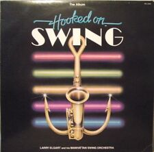 Hooked On Swing-Larry Elgart and his Manhattan Swing Orch-1982-33 1/3-LP-NM/EX