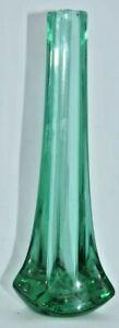 Whitefriars Aqua Tricorn Vase