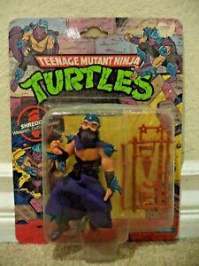 Teenage Mutant Ninja Turtles SHREDDER 1990 Action Figure Playmates *new*