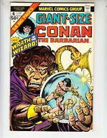 Giant Size Conan The Barbarian 4 VF+ (8.5) 6/75 Barrie Windsor Smith artwork!