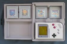 Original 1989 Nintendo Game Boy Gray Handheld Console Bundle Mario Double Dragon