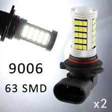 2X LED Bulb Lamp White Color 9006 9012 HB4 For Car Fog Light Foglight Parts Trim