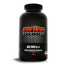 ZerOne Nutrition BCAA Glutamin Taurin 200 Kapseln 812mg Inhaltsstoffe pro Kapsel