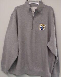 Kentucky Wildcats UK Embroidered 1/4 Zip Sweatshirt XS-4XL, LT-4XLT NCAA New