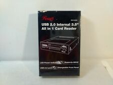 """Rosewill USB 2.0 Internal 3.5"""" All In 1 Card Reader RCR-IC001 t5673"""