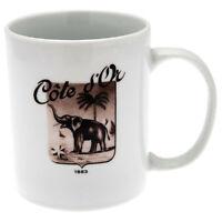 Kraft Foods Côte d'Or Logo Tasse Keramik weiß Becher Kaffeetasse 300 ml