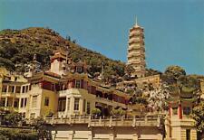TIGER GARDENS Hong Kong CHINA ca 1960s Vintage Postcard