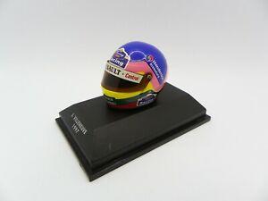 Helmet Jacques Villeneuve 1997 Williams MINICHAMPS 1/8 F1 Helmet Formula 1