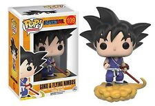 Funko Pop! Anime Dragonball Goku & Nimbus Vinyl Figure #109