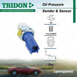 Tridon Oil Pressure Switch for Ford Escape Falcon Fiesta Focus Mondeo Transit
