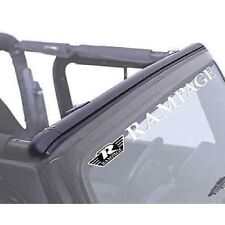 Rampage 901004 Windshield Channel Header fits 97-06 Wrangler