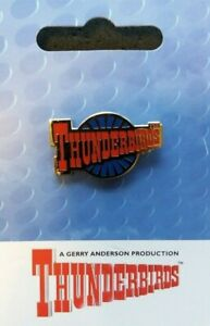 GERRY ANDERSON THUNDERBIRDS ROUNDEL PIN BADGE BRAND NEW