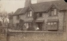 Winchester posted House & Wall. Card written by A.G to Mrs Wareham, Winchester.
