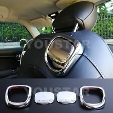 US Seller 2x ROYAL CHROME Seat Release Handle Cover for MINI Cooper S 3DR F56