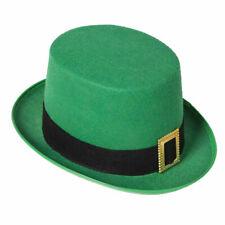d7a60ae1d47d6 Adult St Patrick s Green Leprechaun Top Hat Fancy Dress Accessory