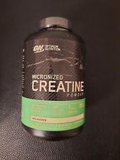 ON Optimum Nutrition Micronized Creatine Powder Unflavored 1.32 lb 600 g Ex 2/22