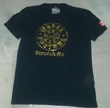 Oregon Lottery Wheel of Fortune Scratch its Limited Edition Black T Shirt M