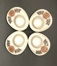 4 Vintage FIGGJO FLINT Egg Cups Dishes -  Astrid - Norway, Turi Gramstad, MCM